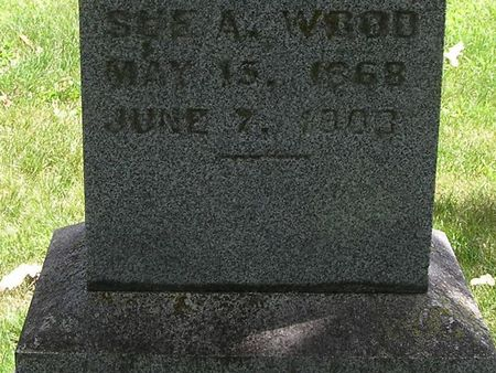 WOOD, SUE A. - Delaware County, Iowa | SUE A. WOOD