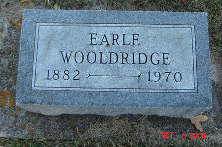 WOOLDRIDGE, EARLE - Delaware County, Iowa   EARLE WOOLDRIDGE