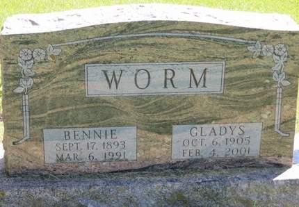 WORM, GLADYS - Delaware County, Iowa | GLADYS WORM