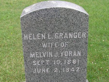 GRANGER YORAN, HELEN L. - Delaware County, Iowa | HELEN L. GRANGER YORAN