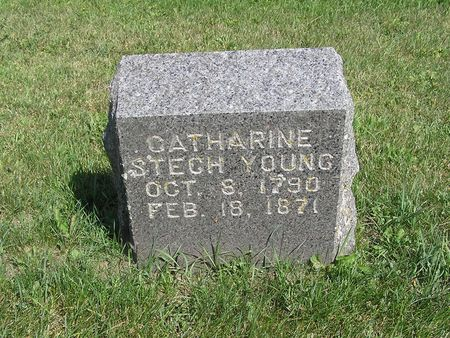 STECH YOUNG, CATHARINE - Delaware County, Iowa | CATHARINE STECH YOUNG
