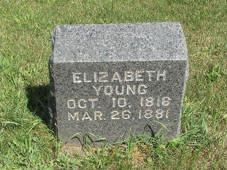 YOUNG, ELIZABETH - Delaware County, Iowa   ELIZABETH YOUNG