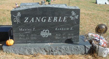 SMITH ZANGERLE, MAXINE T. - Delaware County, Iowa | MAXINE T. SMITH ZANGERLE