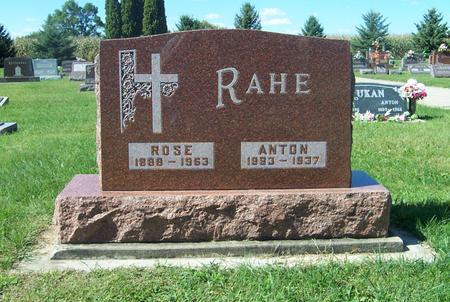 RAHE, ROSE - Delaware County, Iowa | ROSE RAHE