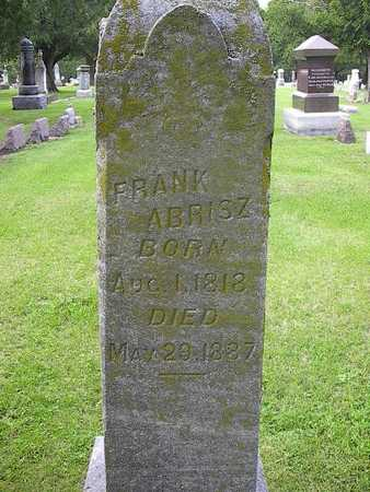 ABRISZ, FRANK - Des Moines County, Iowa | FRANK ABRISZ