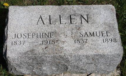 ALLEN, SAMUEL - Des Moines County, Iowa | SAMUEL ALLEN
