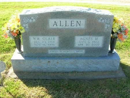 ALLEN, WILLIAM CLAIR - Des Moines County, Iowa | WILLIAM CLAIR ALLEN