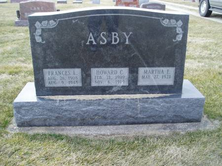 ASBY, FRANCES - Des Moines County, Iowa | FRANCES ASBY