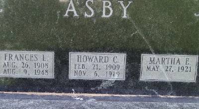 ASBY, HOWARD C. - Des Moines County, Iowa | HOWARD C. ASBY