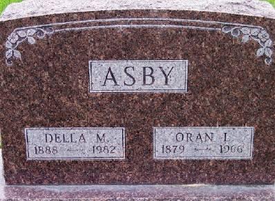 ASBY, ORAN I. - Des Moines County, Iowa | ORAN I. ASBY