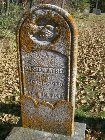 AYRES, WARREN - Des Moines County, Iowa | WARREN AYRES