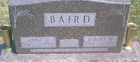BAIRD, ANNA A. - Des Moines County, Iowa | ANNA A. BAIRD