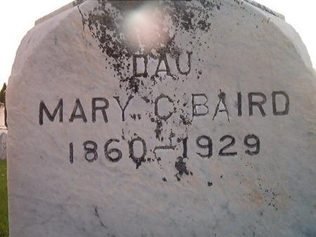 BAIRD, MARY C. - Des Moines County, Iowa | MARY C. BAIRD