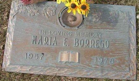 BORREGO, MARIA E. - Des Moines County, Iowa   MARIA E. BORREGO