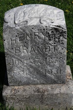 BRANDT, HENRY H. - Des Moines County, Iowa | HENRY H. BRANDT