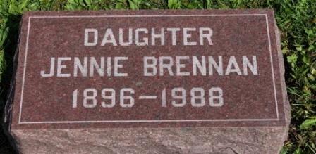 BRENNAN, JENNIE - Des Moines County, Iowa   JENNIE BRENNAN
