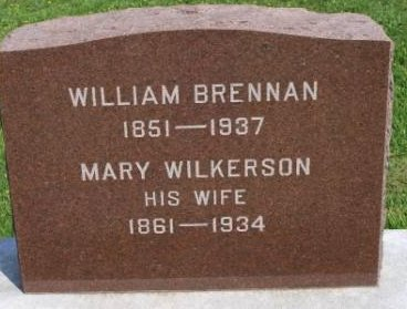 WILKERSON BRENNAN, MARY JANE - Des Moines County, Iowa   MARY JANE WILKERSON BRENNAN