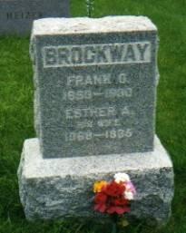 BROCKWAY, ESTHER MAUDE - Des Moines County, Iowa | ESTHER MAUDE BROCKWAY