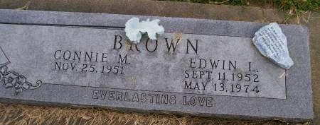 BROWN, EDWIN L. - Des Moines County, Iowa | EDWIN L. BROWN
