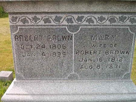BROWN, MARY - Des Moines County, Iowa | MARY BROWN
