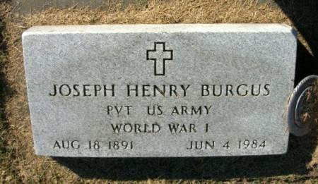 BURGUS, JOSEPH HENRY - Des Moines County, Iowa   JOSEPH HENRY BURGUS