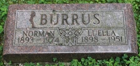 BURRUS, NORMAN - Des Moines County, Iowa   NORMAN BURRUS