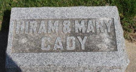 CADY, HIRAM R. - Des Moines County, Iowa | HIRAM R. CADY