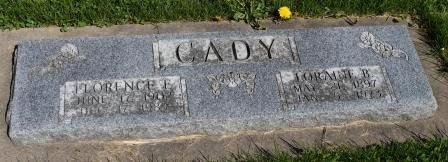 CADY, LORAINE B. - Des Moines County, Iowa | LORAINE B. CADY