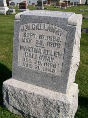 CALLAWAY, J.W. - Des Moines County, Iowa | J.W. CALLAWAY