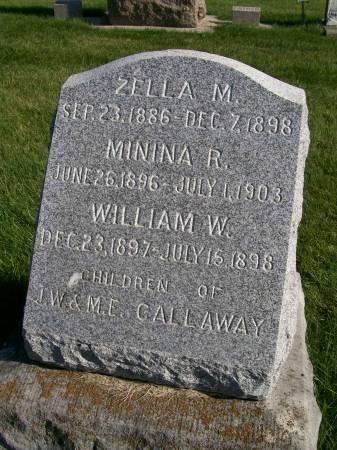 CALLAWAY, WILLIAM W. - Des Moines County, Iowa | WILLIAM W. CALLAWAY