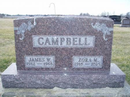 CAMPBELL, ZORA MAUDE - Des Moines County, Iowa   ZORA MAUDE CAMPBELL