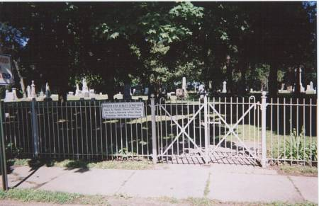 NORTH SIXTH STREET, CEMETERY - Des Moines County, Iowa | CEMETERY NORTH SIXTH STREET