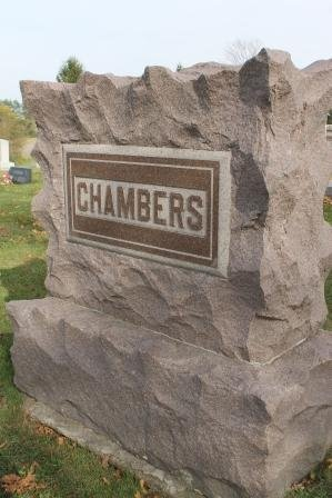 CHAMBERS, FAMILY STONE - Des Moines County, Iowa | FAMILY STONE CHAMBERS