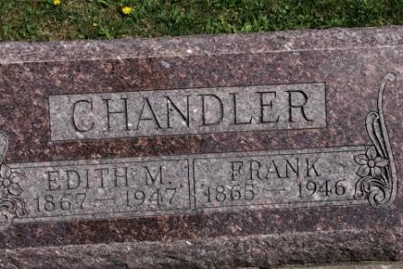 CHANDLER, FRANK K. - Des Moines County, Iowa | FRANK K. CHANDLER