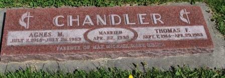 CHANDLER, THOMAS F. - Des Moines County, Iowa | THOMAS F. CHANDLER
