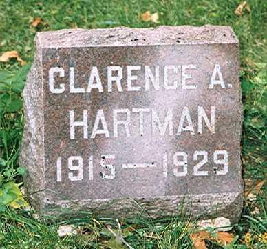 CLARENCE, HARTMAN - Des Moines County, Iowa | HARTMAN CLARENCE
