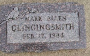 CLINGINGSMITH, MARK ALLEN - Des Moines County, Iowa   MARK ALLEN CLINGINGSMITH