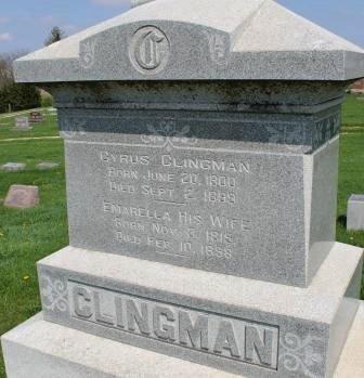 CLINGMAN, CYRUS - Des Moines County, Iowa | CYRUS CLINGMAN