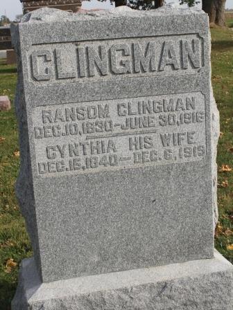 CLINGMAN, RANSOM - Des Moines County, Iowa | RANSOM CLINGMAN
