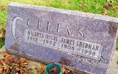 RICE COLLINS, MILDRED - Des Moines County, Iowa | MILDRED RICE COLLINS