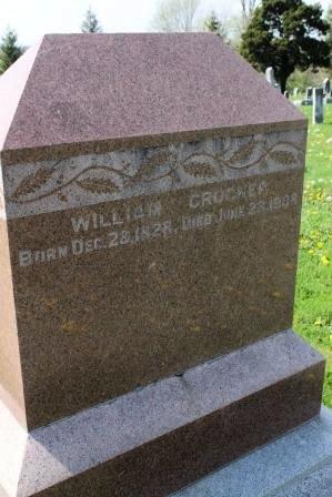 CROCKER, WILLIAM - Des Moines County, Iowa | WILLIAM CROCKER