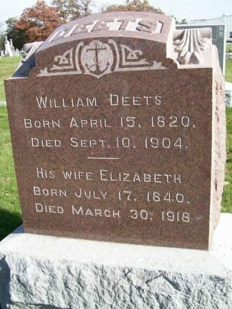 DEETS, WILLIAM - Des Moines County, Iowa | WILLIAM DEETS