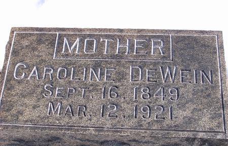 MILLER/MUELLER DEWEIN, CAROLINE - Des Moines County, Iowa | CAROLINE MILLER/MUELLER DEWEIN