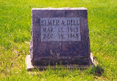 DILL, ELMER A. - Des Moines County, Iowa   ELMER A. DILL