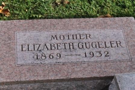 GUGELER DODDS, ELIZABETH - Des Moines County, Iowa | ELIZABETH GUGELER DODDS