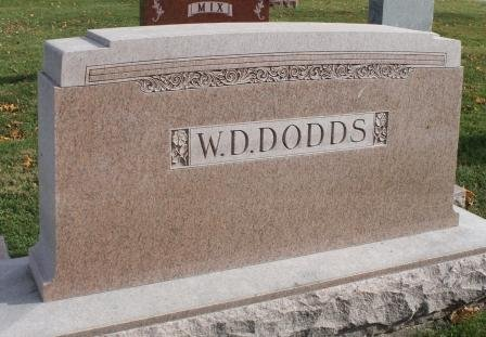 DODDS, FAMILY STONE - Des Moines County, Iowa | FAMILY STONE DODDS
