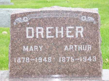DREHER, MARY - Des Moines County, Iowa | MARY DREHER