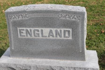ENGLAND, FAMILY STONE - Des Moines County, Iowa | FAMILY STONE ENGLAND
