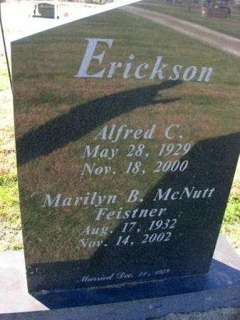 ERICKSON, ALFRED C. - Des Moines County, Iowa | ALFRED C. ERICKSON