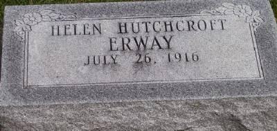 HUTCHCROFT ERWAY, HELEN - Des Moines County, Iowa | HELEN HUTCHCROFT ERWAY